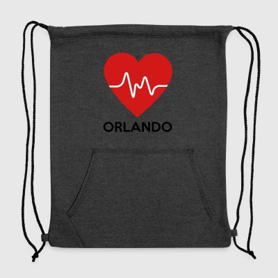 Heart Orlando - Sweatshirt Cinch Bag