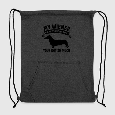 Funny Wiener Desogns - Sweatshirt Cinch Bag