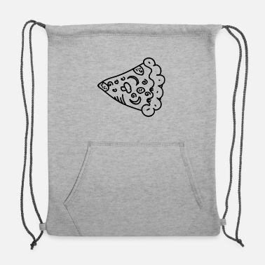 Pizza Slice Slice Of Pizza, Perfect Pizza Slice - Sweatshirt Drawstring Bag