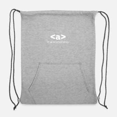 Relationship in a relationship - Sweatshirt Cinch Bag