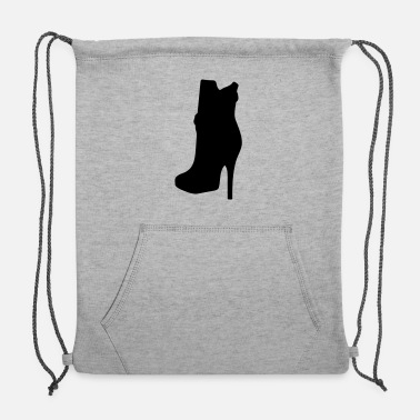 Highheels Vector highheels Silhouette - Sweatshirt Drawstring Bag