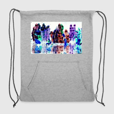 Glowing Trees - Sweatshirt Cinch Bag