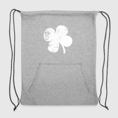 Four Leaf Clover St. Patrick's Day - Sweatshirt Cinch Bag