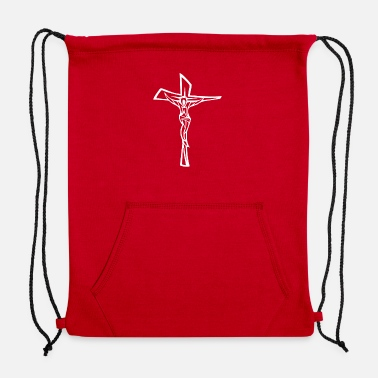 Christ Jesus Christ Catholic - Sweatshirt Drawstring Bag