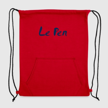 Le Pen - Sweatshirt Cinch Bag