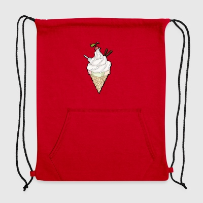 Delicious Ice cream - Sweatshirt Cinch Bag