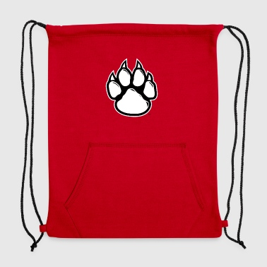 paw print - Sweatshirt Cinch Bag