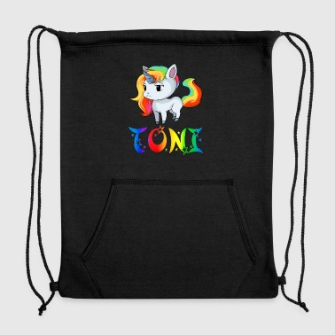 Toni Unicorn - Sweatshirt Cinch Bag