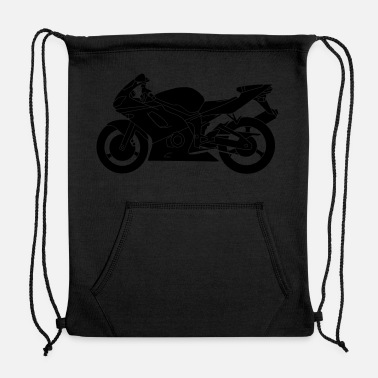 Motorcycle motorcycle - Sweatshirt Cinch Bag