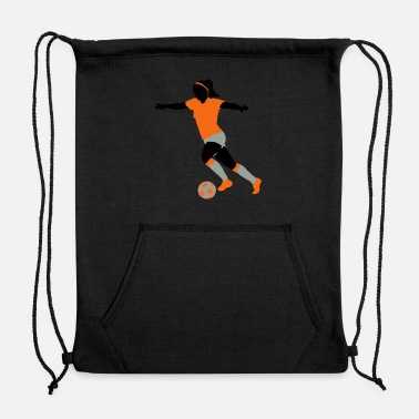 Womens Soccer women soccer - Sweatshirt Drawstring Bag