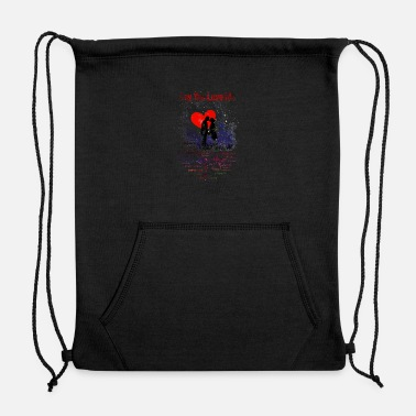 Relationship Say You Love Me - Sweatshirt Drawstring Bag