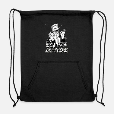 Serve To Serve Man - Sweatshirt Drawstring Bag