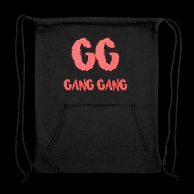 Gang Gang Clothing - Gang Gang Logo - Sweatshirt Cinch Bag