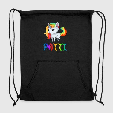 Patti Unicorn - Sweatshirt Cinch Bag