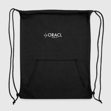 ORACL LOGO WHITE - Sweatshirt Cinch Bag