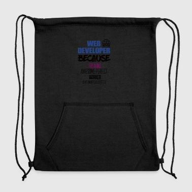 Web developer - Sweatshirt Cinch Bag