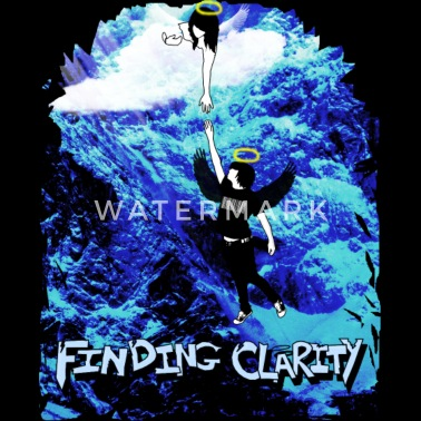 Purple Flower with Stem - Sweatshirt Cinch Bag