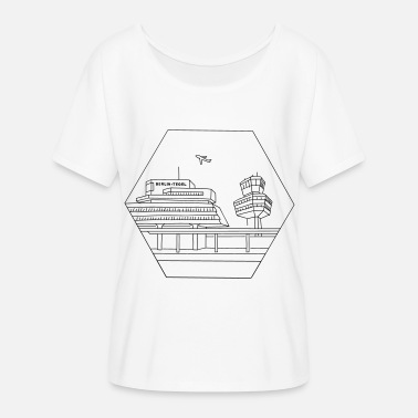 Air Berlin Airport Tegel in Berlin - Women's Flowy T-Shirt