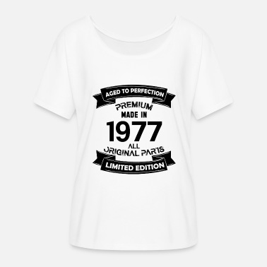 Made In 1977 Premium Vintage 1977 - Women's Flowy T-Shirt