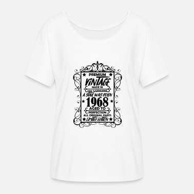 Premium Vintage Made In 1968 A Star Was Born Premium Vintage 1968 - Women's Flowy T-Shirt
