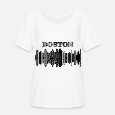 Boston City Boston City - Women's Flowy T-Shirt