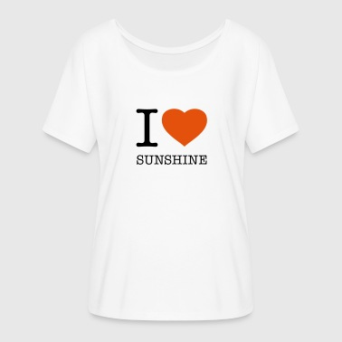 I LOVE SUNSHINE - Women's Flowy T-Shirt