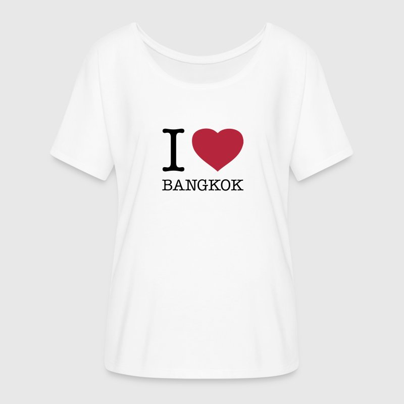 I LOVE BANGKOK - Women's Flowy T-Shirt