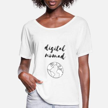 Nomad Digital Nomad - Women's Flowy T-Shirt