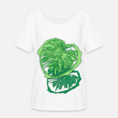 monstera - Women's Flowy T-Shirt