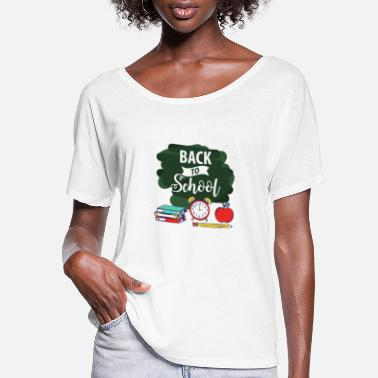 Back To School Back to School - Women's Flowy T-Shirt