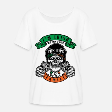 St Patricks Day Party Shirt Shamrock Beer Gift - Women's Flowy T-Shirt