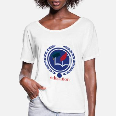 Education Culture Education - Women's Flowy T-Shirt