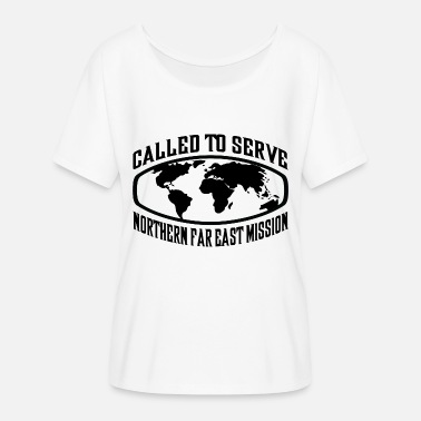 Far East Northern Far East Mission - LDS Mission CTSW - Women's Flowy T-Shirt