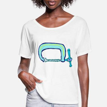 Clamp Roughly drawn G clamp - Women's Flowy T-Shirt