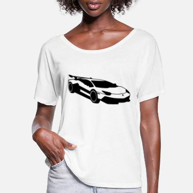 Renner Car,Renner,Sportscar,Vehicle,V8 ✔ - Women's Flowy T-Shirt