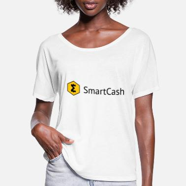 Smart Cash Logo - Women's Flowy T-Shirt
