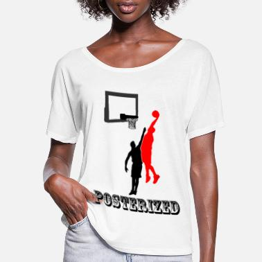 Poster Posterized - Women's Flowy T-Shirt