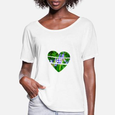 Bandage Bandaged heart - Women's Flowy T-Shirt