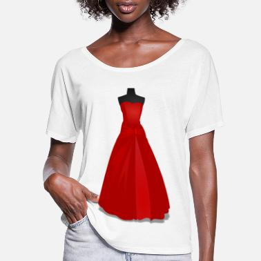 Gown Gown - Women's Flowy T-Shirt