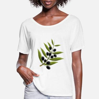 Fruit olives - Women's Flowy T-Shirt