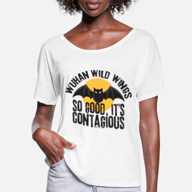 Wings wuhan wings shirt - Women's Flowy T-Shirt