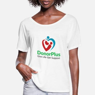 Donorplus DonorPlus - supporting living kidney donors - Women's Flowy T-Shirt