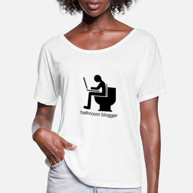 Bathroom bathroom blogger - Women's Flowy T-Shirt