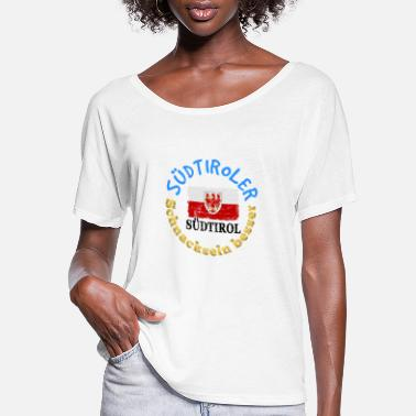 South Tyrol Südtiroler, funny, Italy, Tyrol, South Tyrol,quote - Women's Flowy T-Shirt