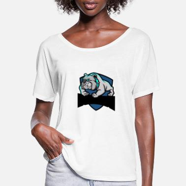 pitbull - Women's Flowy T-Shirt