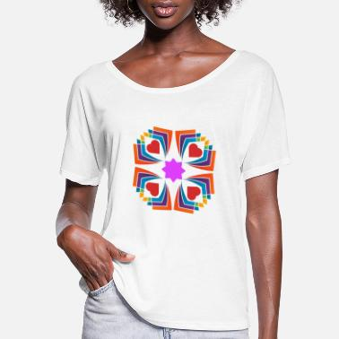 Boy Logo - Women's Flowy T-Shirt