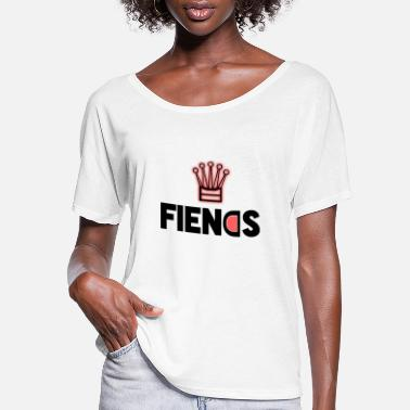 Rapper Fiends Design - Women's Flowy T-Shirt