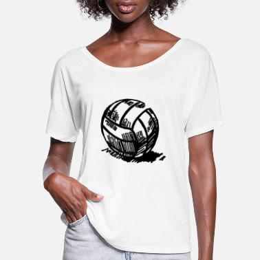 Volley volley - Women's Flowy T-Shirt