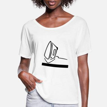 Iron Metal iron - Women's Flowy T-Shirt