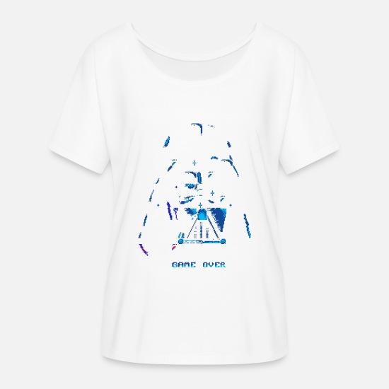 Over T-Shirts - Game Over - Women's Flowy T-Shirt white